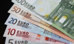 Euro ends week below 1.16