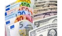Euro rate reverses in mid-week