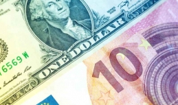 Euro to US dollar rate weakens on Tuesday after previous upturn