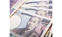 Japanese yen shows rise on Tuesday