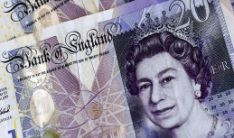 Sterling posts some gains on Tuesday