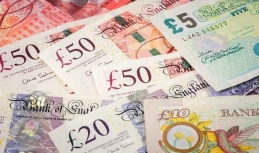 Sterling shows solid upturn
