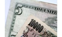US dollar to yen rushes to peaks
