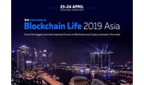 Blockchain Life 2019 Asia: Ukrainian developer in sign-in sheet