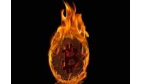 Chinese bitcoin mining farm burns down