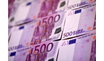 German industrial figures pushes euro up