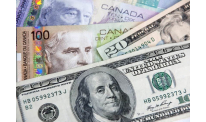 Greenback almost at 2-week peak vs Canadian dollar on Monday