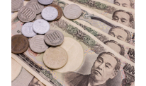 Japanese yen slightly up vs US dollar and euro at Asian session