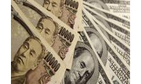 Japanese yen up vs US dollar and euro