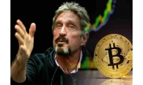John McAfee's price forecast for Bitcoin