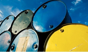 Oil is falling due to growth of stocks