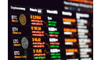 Slack trading pushes bitcoin and other main coins down