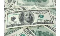 Slacker US state bonds push US dollar down on Monday