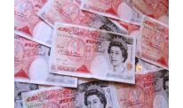 Sterling peaks on Thursday on bullish BoE report