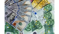 US dollar posts gains while euro plunges