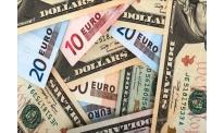 US dollar slackening vs euro