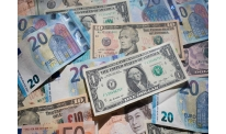 US dollar somewhat lower with euro getting stable