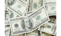 US stock market slump pushes dollar down