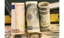 Yen and euro down against US dollar